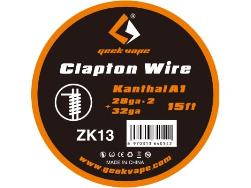 GeekVape Clapton Wire - Kanthal A1 - 4,5m