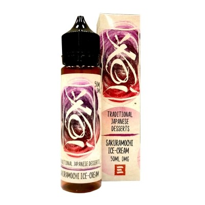 Liquid Sakuramochi Ice Cream - Koi 50ml/60ml