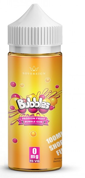 Liquid Passion Fruit Bubble Gum - Bubbles 100ml/120ml
