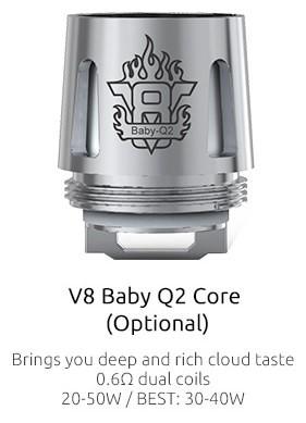 5 TFV8 Baby Beast Coils
