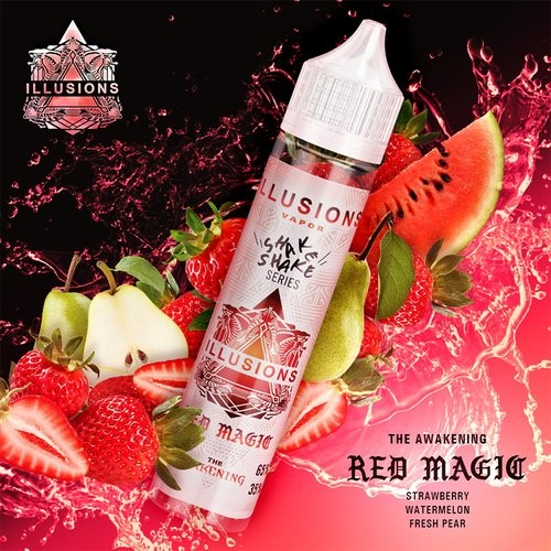 Liquid Red Magic - Illusions Vapor 50ml/60ml