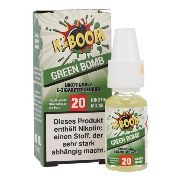 Liquid Green Bomb - K-Boom Nikotinsalz