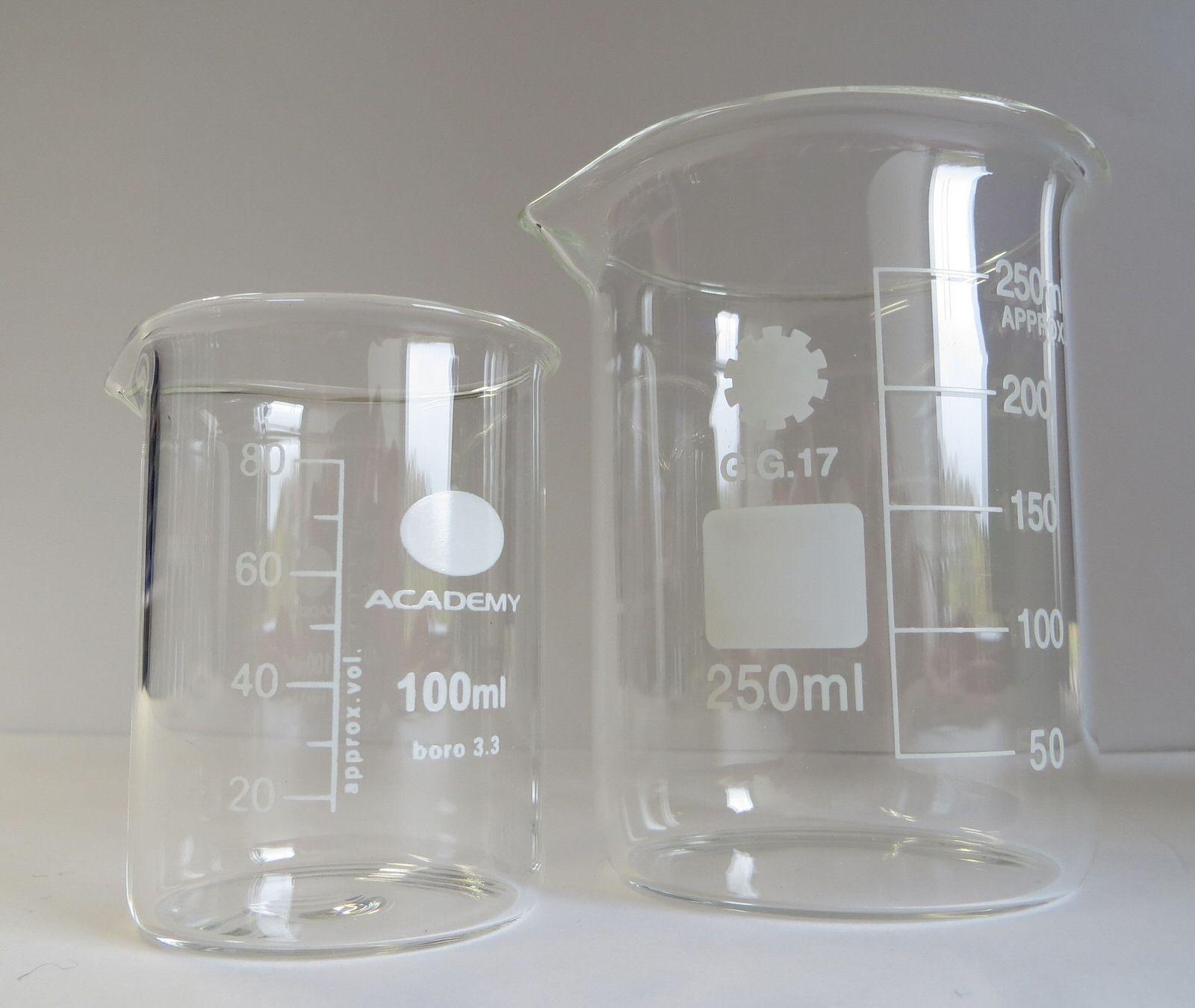 Borosilikatglas Messbecher 100 Ml Dampfdorado