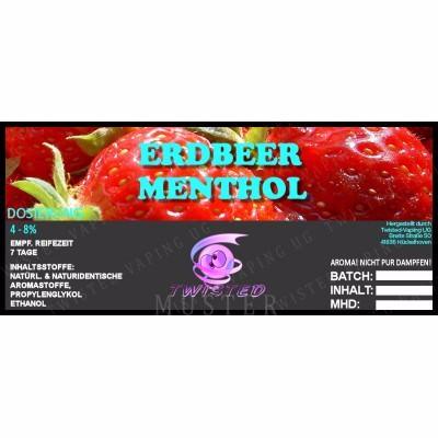 Aroma Erdbeer Menthol
