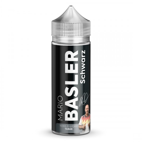 Liquid Schwarz - Mario Basler 100ml/120ml