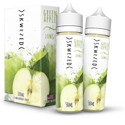 Liquid Green Apple - Skwezed 100ml/120ml
