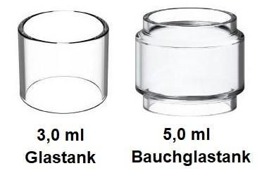Vandy Vape Kylin V2 RTA Ersatzglas 3ml/5ml