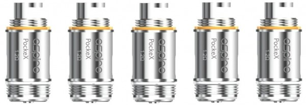 5 Aspire PockeX Coils