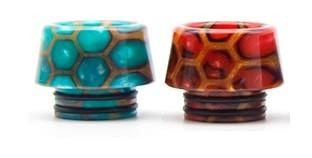 810er Resin Drip Tip New Honeycomb - Typ kurz