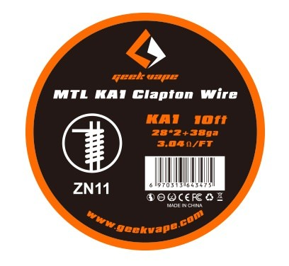 GeekVape MTL Clapton Wire - KA1 - 3m