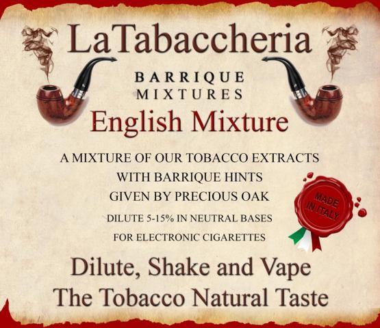 Aroma Barrique English Mixture