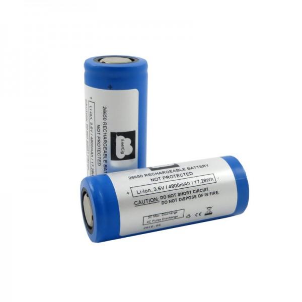 Enercig EC-26650HC 4800 mAh - Flat Top