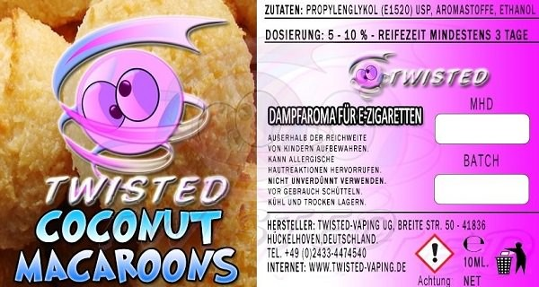 Aroma Coconut Macaroons (TF)