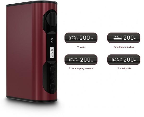 Eleaf iStick QC 200 Watt mit Melo 300