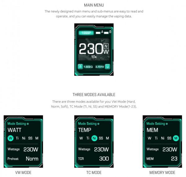 SMOK E-Priv Mod