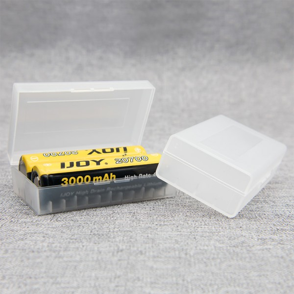 Transportbox für 2 x 20700/21700 Akkus