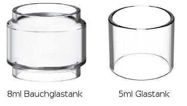 Smok TFV12 Prince Ersatzglas Tank (5ml/8ml)