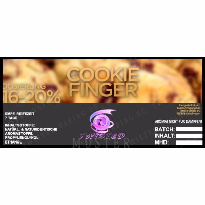 Aroma Cookie Finger