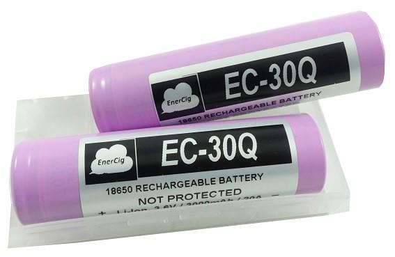 2 x Enercig 18650-EC-30Q 3000mAh