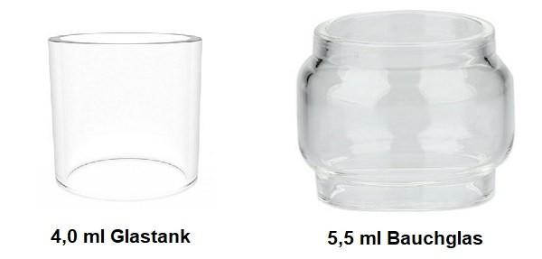GeekVape Zeus Dual RTA Ersatzglas (4,0ml/5,5ml)