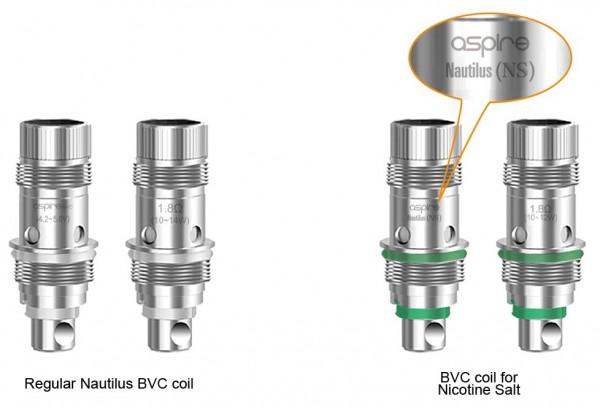 5 Aspire Nautilus BVC Coils