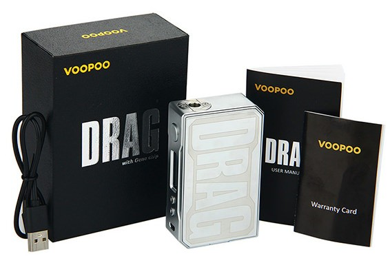 VooPoo Drag Box Carbon