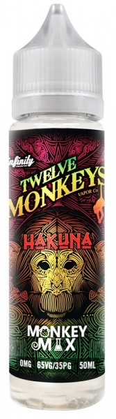 Liquid Hakuna - Twelve Monkeys - 50ml/60ml