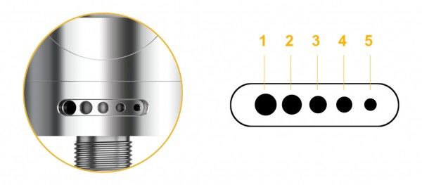Aspire Zelos 50 Watt mit Nautilus 2