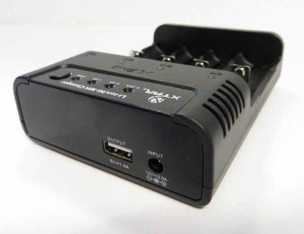 XTAR XP4 Akku-Ladegerät