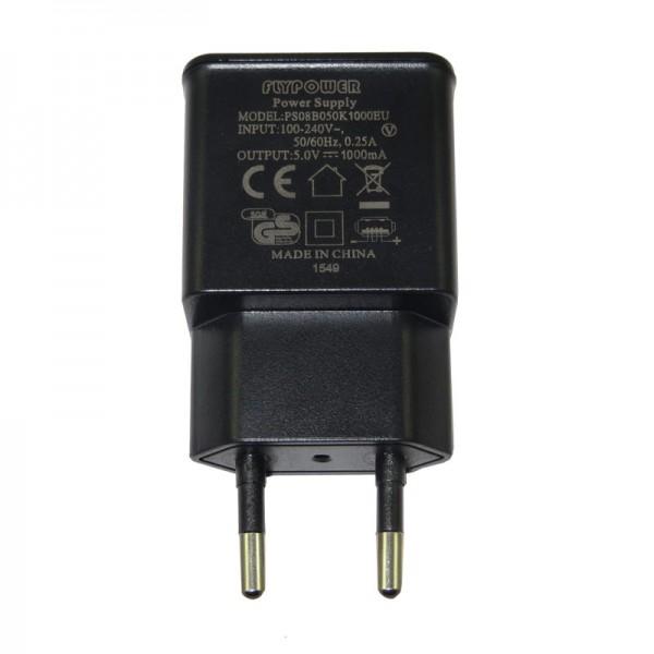 1A Stecker 5W für USB-Ladekabel