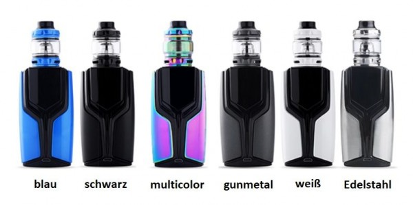 Wotofo Flux 200W Kit mit Flow Pro Verdampfer
