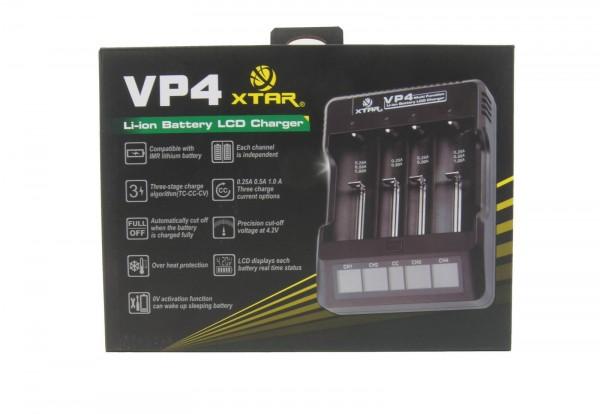 XTAR VP4 Akku-Ladegerät