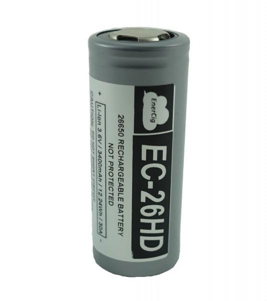 Enercig EC-26650HD 3400mAh - 30A - Raised Top