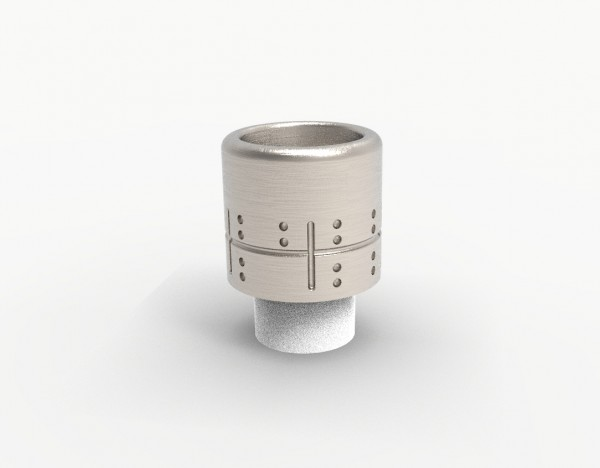 Jigsaw Mini Drip Tip - Cross
