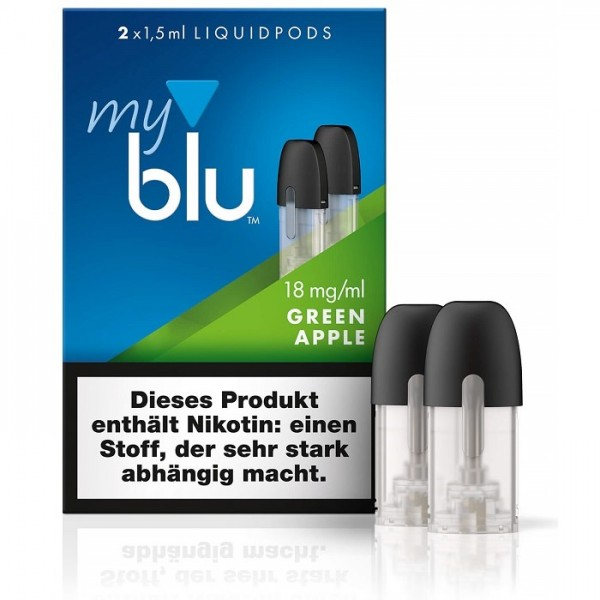 Liquidpod Green Apple - myblu Pods (2er Pack)