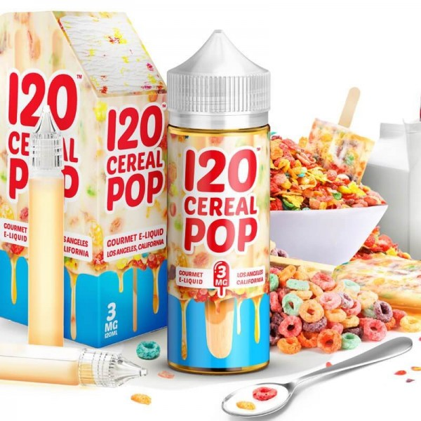 Liquid 120 Cereal Pop - Mad Hatter 50ml/60ml