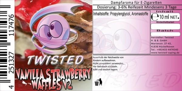 Aroma Vanilla Strawberry Waffles V2