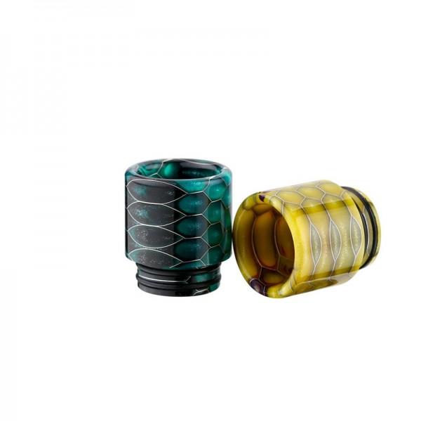 810er Resin Drip Tip Snakeskin - Typ 6