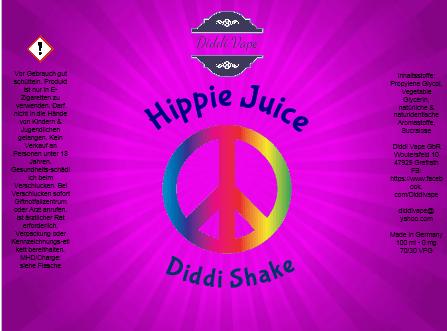 Liquid Hippie Juice - Diddi Shake von Diddi Vape 120ml
