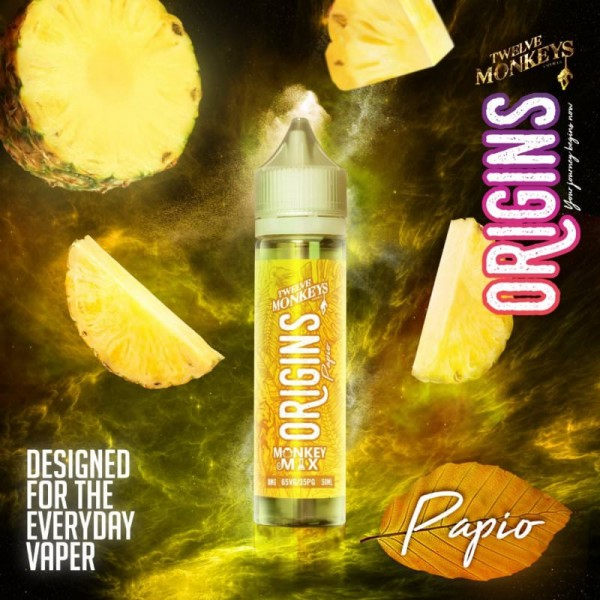 Liquid Origins Papio - Twelve Monkeys - 50ml/60ml