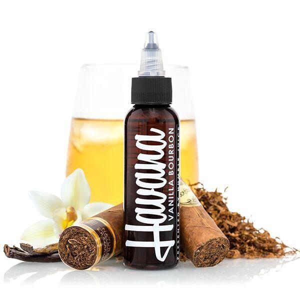 Liquid Vanilla Bourbon Tobacco - Havana Juice 100ml Plus