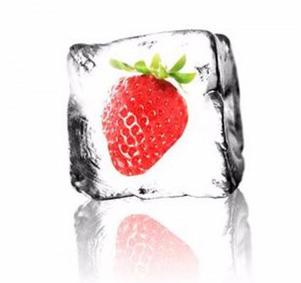 Liquid Eisige Erdbeere