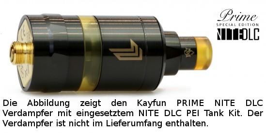 Kayfun PRIME NITE DLC PEI Tank Kit