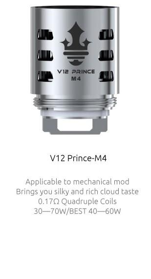 3 TFV12 Prince Coils