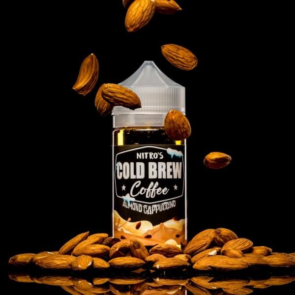 Liquid Almond Cappuccino - Nitros Cold Brew Coffee 100ml/120ml