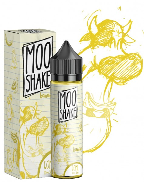 Liquid Banana - Moo Shake - 50ml/60ml