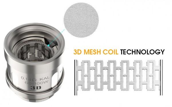 3 Innokin Scion Plex 3D Coils