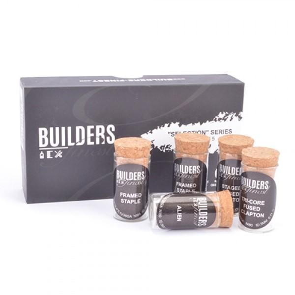 Builders Finest Selection Kit - Supreme 5 - 5 x 2 handgefertigte Coils