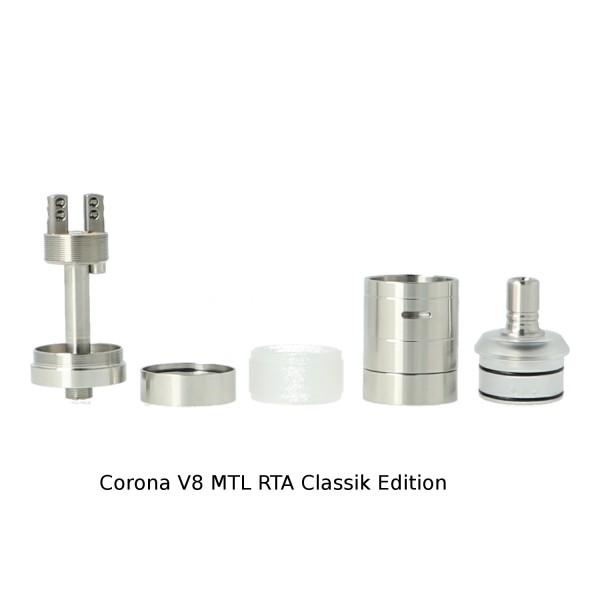 Corona V8 MTL RTA Verdampfer