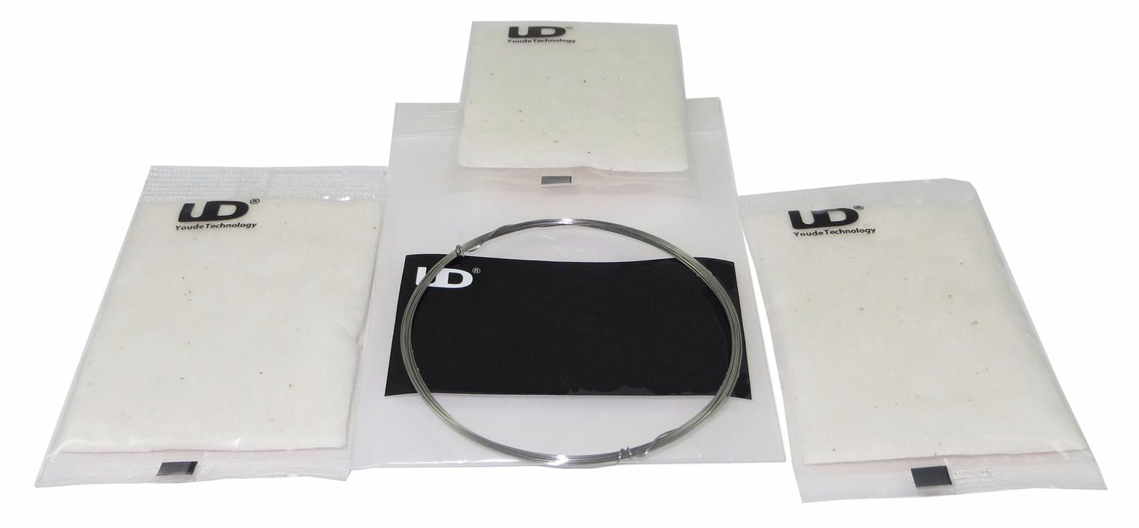 UD Draht und Bio-Baumwollwatte-Set
